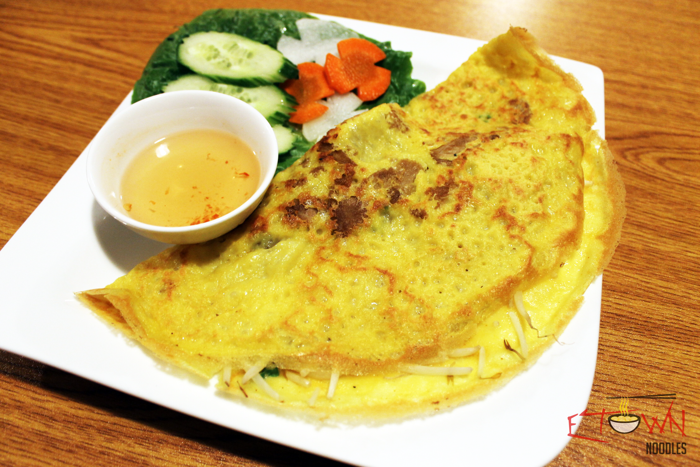 Vietnamese Crepe Bánh xèo